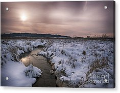 Winter's Blanket... Acrylic Print by Dan Hefle