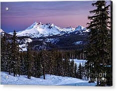 Winter's Dawn Acrylic Print