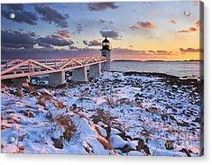 Winter's Light Acrylic Print