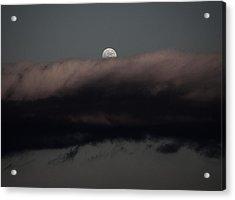Winter's Moon Acrylic Print