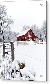 Winter's Morning Acrylic Print