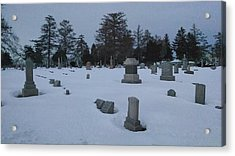 Winters Rest Acrylic Print