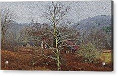 Winter's Sentinel V2 Acrylic Print by Tom Culver
