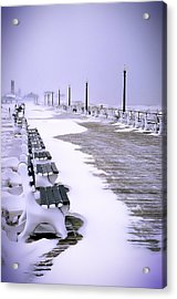 Winter's Silence Acrylic Print by William Walker