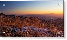 Winter's Splendor Acrylic Print by Heidi Smith