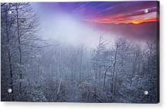 Winter's Sunrise Acrylic Print