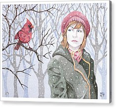 Winter's Tale Acrylic Print by Jack Puglisi
