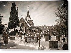 Winters Tale Acrylic Print