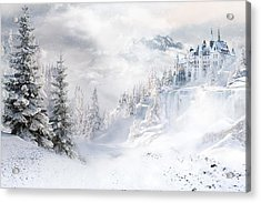 Winters Tale Acrylic Print by Shanina Conway