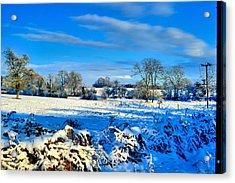 Winters View Acrylic Print