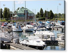 Acrylic Print featuring the photograph Winthrop Harbor by Debbie Hart