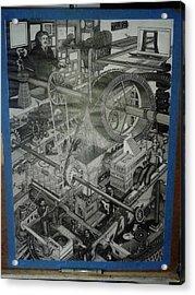 Wip    Free Energy Acrylic Print