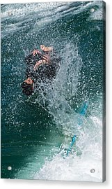 Wipe Out Acrylic Print by Classic Visions