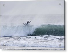 Wipe Out Acrylic Print by Tim Grams