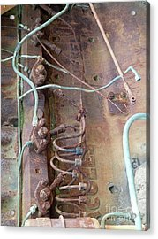 Acrylic Print featuring the photograph Wired by Newel Hunter