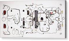 Wiring Loom Of Modern Car Acrylic Print