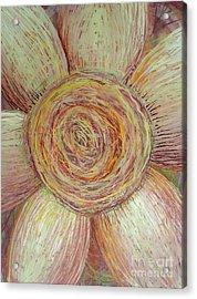 Wiry Sunflower Acrylic Print