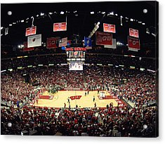 Wisconsin Badgers Kohl Center Acrylic Print by Replay Photos