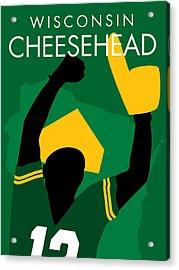 Wisconsin Cheesehead Acrylic Print