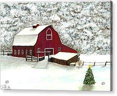 Wisconsin Christmas Acrylic Print