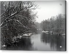 Wisconsin River Acrylic Print by Kay Novy