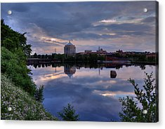 Wisconsin River Reflection Acrylic Print