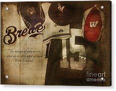 Wisconsin Sports Acrylic Print