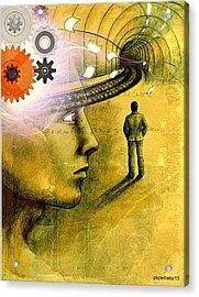 Wisdom Underground - Healing Through Understanding Acrylic Print