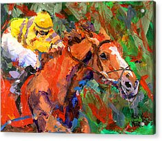 Wise Dan Acrylic Print by Ron and Metro