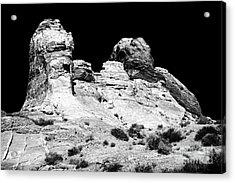 Wise Men Of The Desert Acrylic Print by John Rizzuto