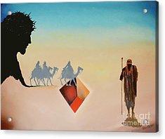 Wise Men Still Seek Him Acrylic Print by Peter Olsen