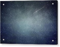 Wish Upon A Star Acrylic Print by Violet Gray