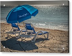 Wish You Were Here - Higgs Beach - Key West - Hdr Style Acrylic Print