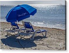 Wish You Were Here - Higgs Beach - Key West Acrylic Print