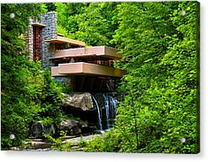 Wishes On Fallingwater Too Acrylic Print