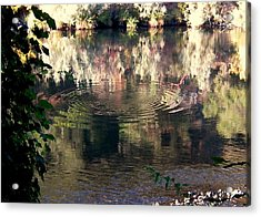 Acrylic Print featuring the photograph Wishing Labyrinth by Marie Neder