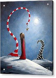 Wishing Star By Shawna Erback Acrylic Print by Shawna Erback