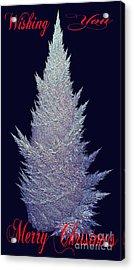 Wishing You Merry Christmas Acrylic Print