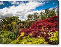 Wisley Garden Wall Acrylic Print