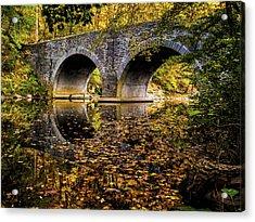 Wissahickon Park Bridge Acrylic Print