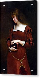 Wistful Thoughts Acrylic Print by Gustave Jean Jacquet