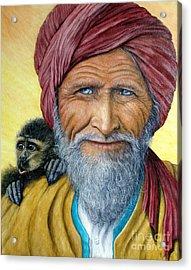 Wit And Wisdom Acrylic Print