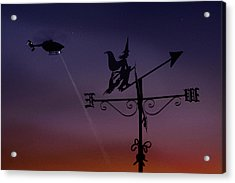 Witch Hunt Acrylic Print by Richard Piper