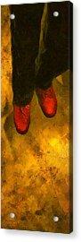 Witch Walking Acrylic Print