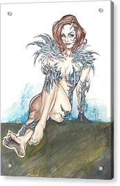 Witchblade Acrylic Print