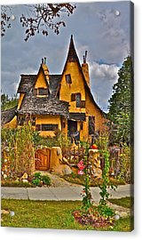 Witches House Acrylic Print by Joe  Burns