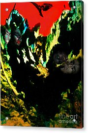 Witches' Sabbath Acrylic Print by Steed Edwards