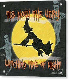 Witching Time Acrylic Print by Debbie DeWitt
