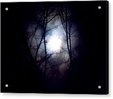 Witch's Moon Acrylic Print