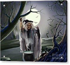 Witch's Potion Acrylic Print